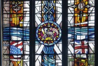 St Peter & St Thomas Becket Church featured design by stained glass artist Derek Hunt