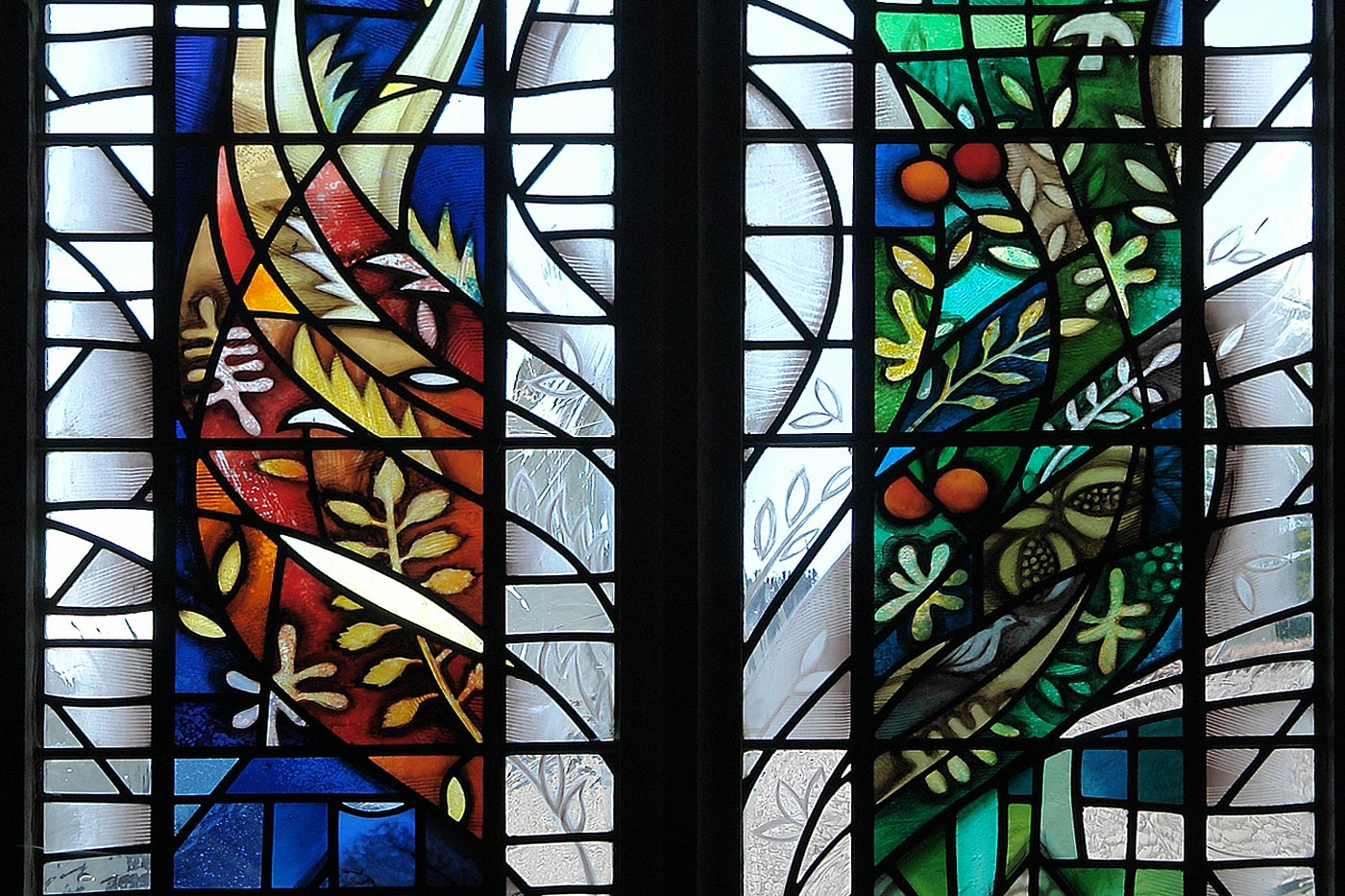 Stained Glass Designs : St mary s church bitteswell derek hunt architectural