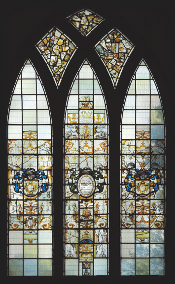 Conservation and restoration of historical stained glass windows
