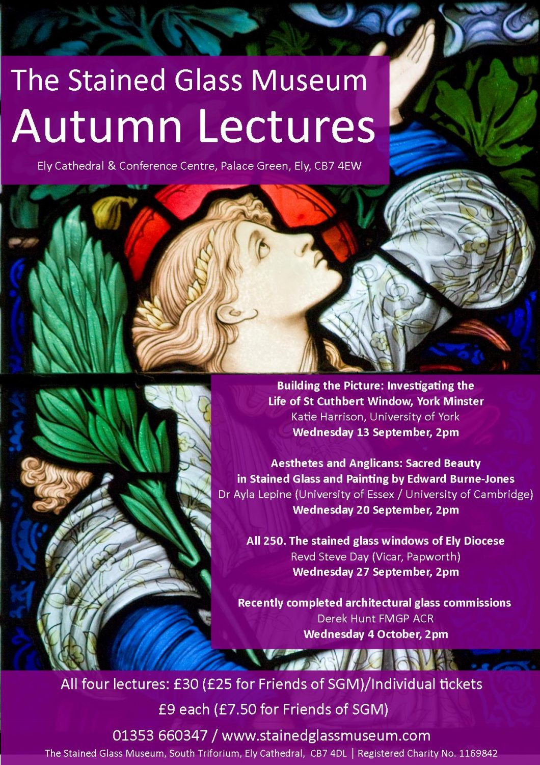 Autumn 2017 Lectures A4 Poster